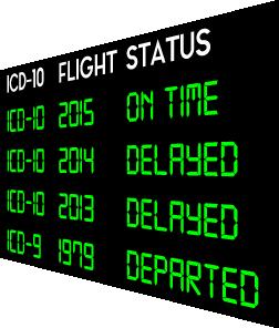ICD-10 Delay Calendar