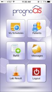 PrognoCIS Mobile Patient Portal App