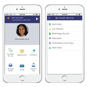Patient Portal App Images