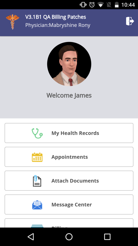 Attach documents on Patient Portal