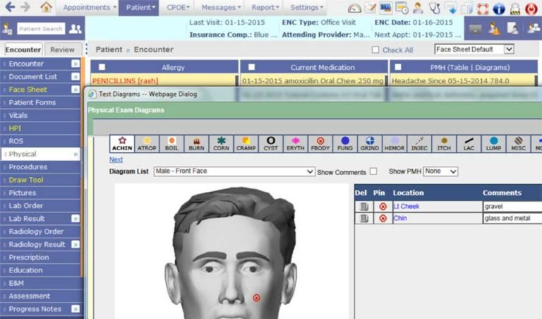 dermatology ehr software