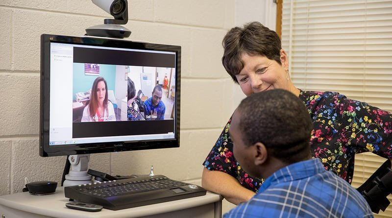 Telemedicine service between a provider and patient
