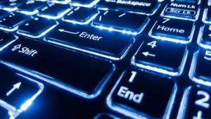 Computer keyboard to keep data secured