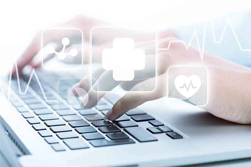 EHR-Software-Laptop