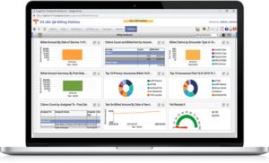 Medical Billing-Analytics screen