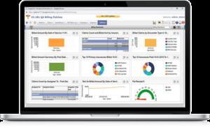 Medical Billing-Analytics screen