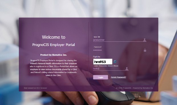 Prognocis Employer Portal