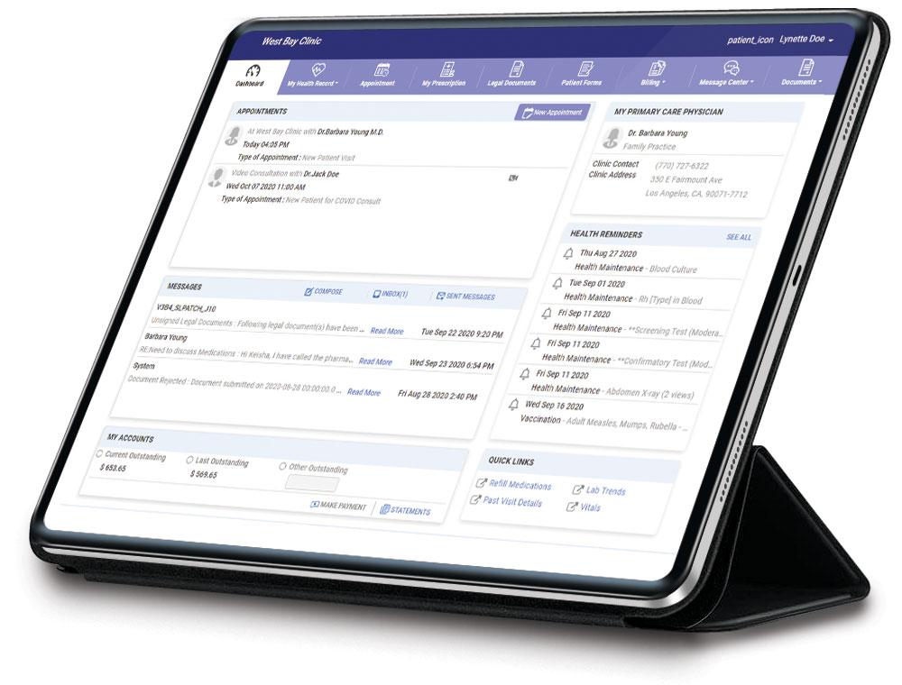 Patient Portal - PrognoCIS